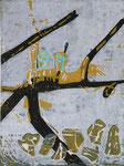 Auftrieb (Motiv 30 cm x 40 cm, Papier 50 cm x 70 cm, Aufl.: 20)