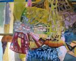Schnittmenge (Acrylmalerei auf Leinwand, 80 cm x 100 cm, 2010)