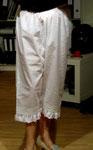 Drawers- knielange, recht neckische Unterhosen