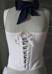 leichtes Korsett ca. 1790 nach einem Original aus dem Herefordmuseum UK