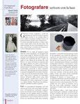 CAPODOPERA, rubrica CRAFT MOVIE, articolo: FOTOGRAFIA: scrivere con la luce