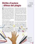 Diritto d'autore e difesa dal plagio. Rubrica GLI ARTIGIANAUTI su Capodopera, settembre 2011. Le immagini presenti nell'articolo sono registrate e tutelate.
