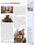 CAPODOPERA, rubrica CRAFT MOVIE, articolo:La storia nella MINIATURA
