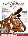 Capodopera, numero di Settembre 2011. Copertina.