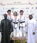 Sylvia Strube Weltmeisterschaft Abu Dhabi 2013