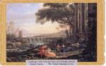 踊るサテュロスとニンフのいる風景