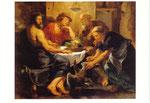 フィレモンとバウキスの家を訪れたユピテルとメルクリウス