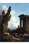 古代の廃墟(表)