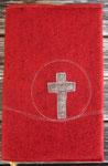 GLH rotmeliert ohne RV Kreuz mittelgraumeliert