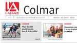 28/08/2018 - L'Alsace - Une régionale