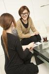 完全プライベート空間で他のお客様の目を気にせずカウンセリング、施術が受けられます。