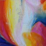 Farbleuchten | 40 x 40 cm | Mischtechnik auf Leinwand | 2013