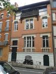Toulouse : la maison de Claude Nougaro, le long de la Garonne