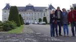 Brienne : la façade du château