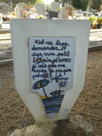 La tombe de Georges Brassens au cimetière de Sète