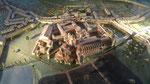 Maquette de l'abbaye de Cluny au Moyen Age
