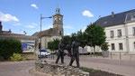 Vue de notre parking à Marsannay-la-Côte