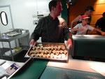 Dégustation d'1 huître chaude