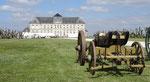 Brienne : l'arrière du château