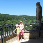 Laura (9 ans) et Romane (6 ans)