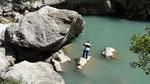 Un pêcheur a trouvé une bonne place !