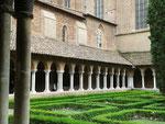 Toulouse : cloître de la basilique