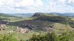 Paysage vu du haut de la roche de Solutré