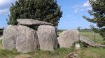 Un dolmen près de Goulven