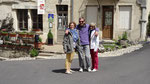A Flavigny avec Sabine et Noël