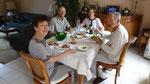 A table avec Marie-Jeanne et Henri