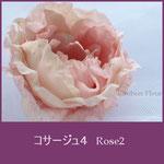 薔薇:バラ(ローズ)のコサージュ2