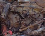 Fragmento de guerreros muertos