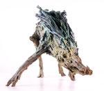 Wildschwein, Bronze patiniert