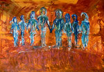 We are Family. 140 x 200 cm
