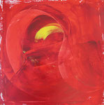 Red Swan. 60 x 60