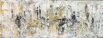 Abstract Meeting  Acryl auf Leinwand  160 x 50 cm