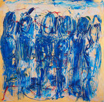 Blue Hour. 120 x 120