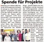 Spende für Projekte - Eder-Diemel Tipp 20.04.2013