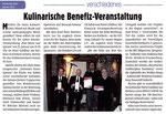 Kulinarische Benefiz-Veranstaltung - Korbacher Bote Januar 2013