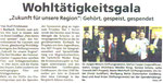 Spendenübergabe Fein hören und speisen - Korbacher Bote Aug. 2014
