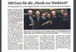 Musik zur Marktzeit - WLZ 05.11.2013
