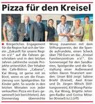 Pizza für den Kreisel - Eder Diemel Tipp 18.08.12
