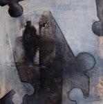 le puzzle - 2007 - 85 x 85 cm / Sfr. 2'500.-