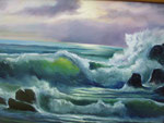 Öl auf Leinwand, 80 x 60 cm, nach unbek. Künstler