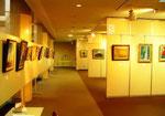 【第11回洋画グループ展】2011年11月30日~12月5日 作品数:63点(オリジナル画42点、摸写画21点)※画像掲載の了解を得ておりませんので、メンバーのオリジナル作品は、ぼかしてUPさせて頂きます。