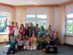 Janina Gradl Yoga und Lomi-Massage Yogawochenende Kloster Kostenz 2016