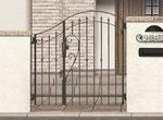 外構・エクステリア工事 鋳造(鋳物)門扉