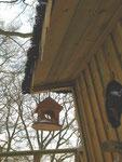 Nichoir cabane de l'écureuil