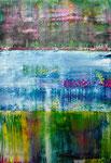 """""""Bluebeard"""" 100x70x4cm/Acryl auf Leinwand"""