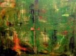 """Green mile"" 160x120x2cm/Acryl auf Leinwand"